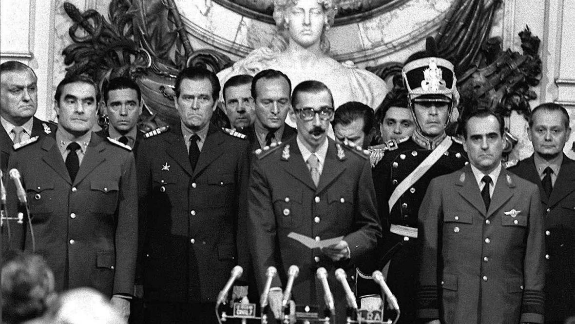 Argentinská vojenská junta