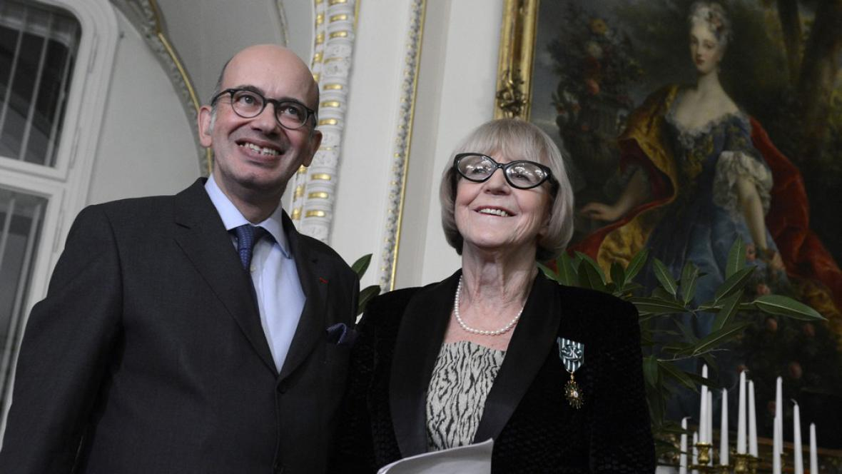 Pierre Lévy a Eva Zaoralová