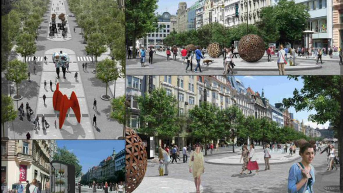 Revitalizace Václavského náměstí