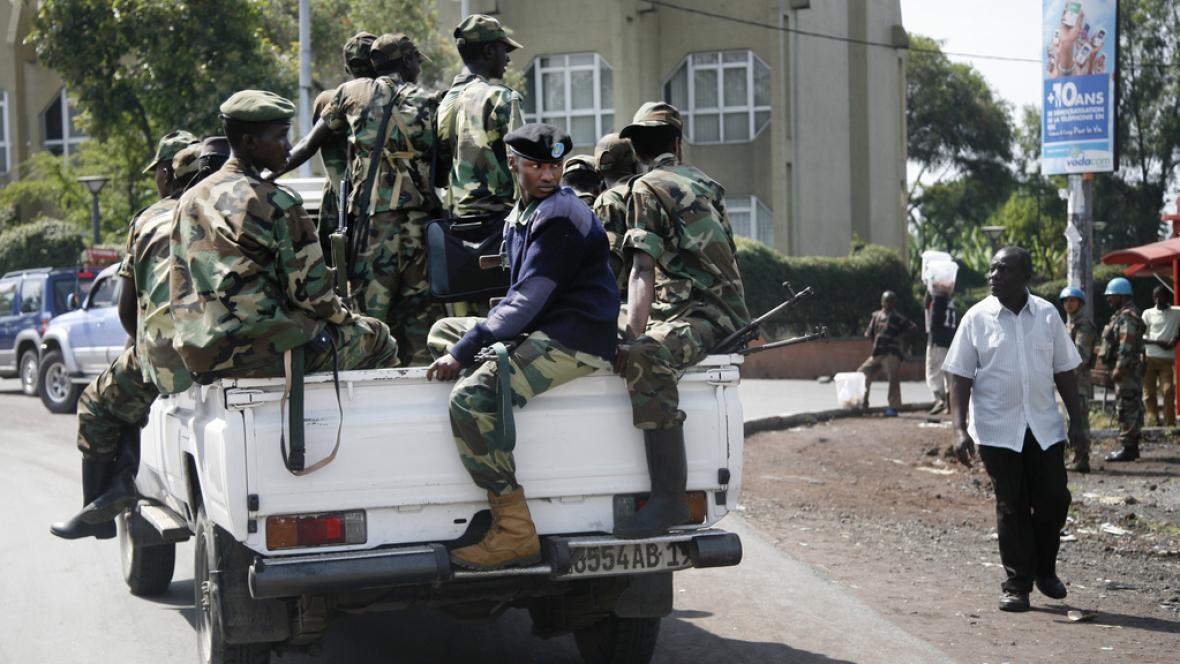 Konžští povstalci ze skupiny M23