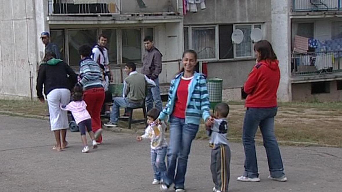 Obyvatelé chanovského sídliště