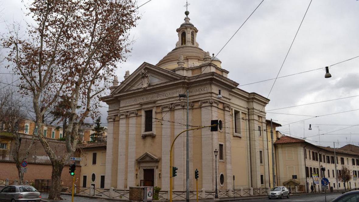 Kostel svatého Marcelina a Petra v Římě