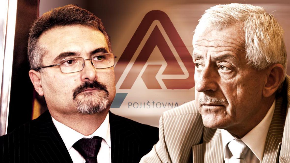 Pavel Horák a Leoš Heger se delší dobou neshodnou nad VZP