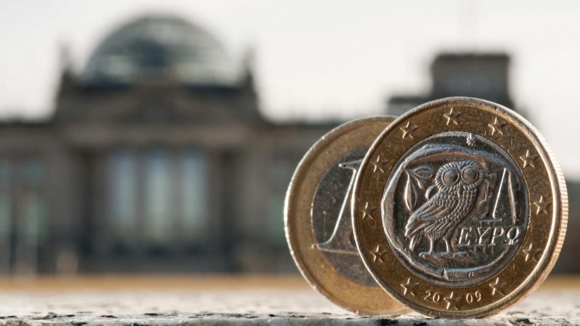 Řecké euro před Bundestagem