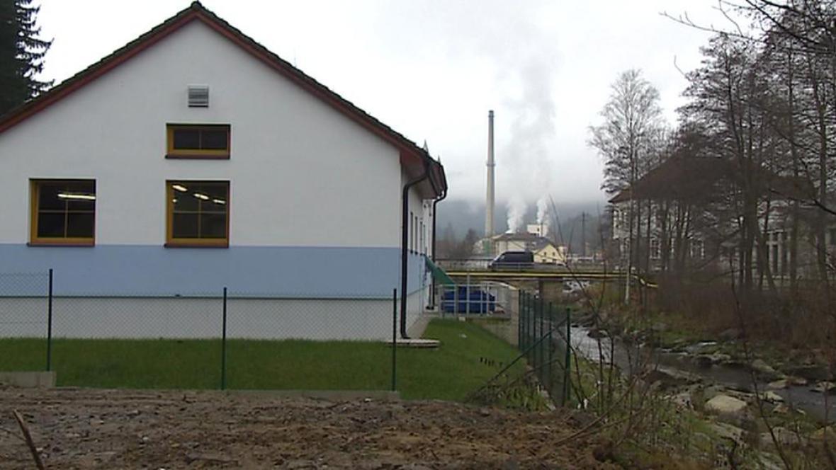 Nová čistírna odpadních vod v Loučovicích