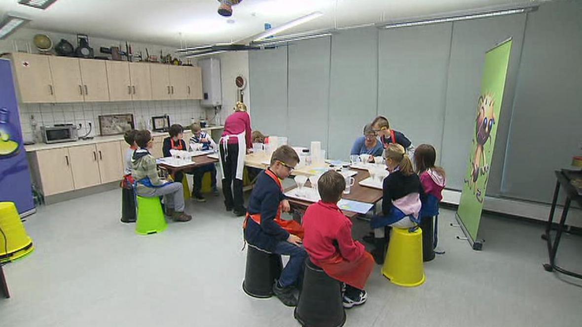 Dětská laboratoř v Národním technickém muzeu