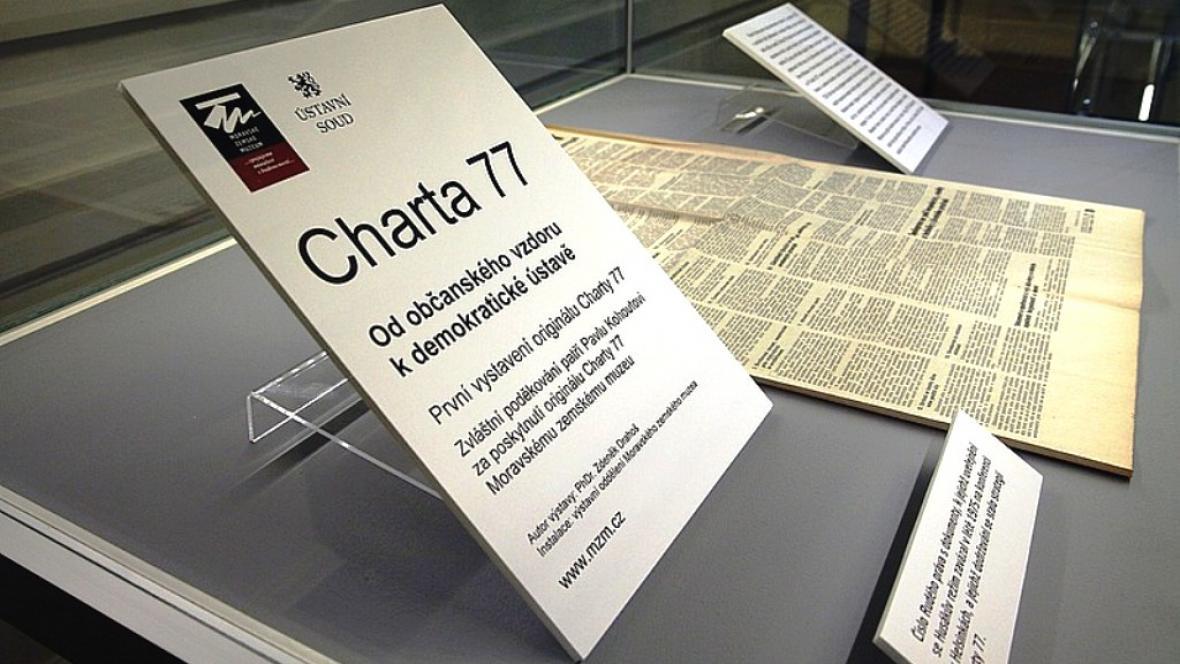 Výstava k Chartě 77