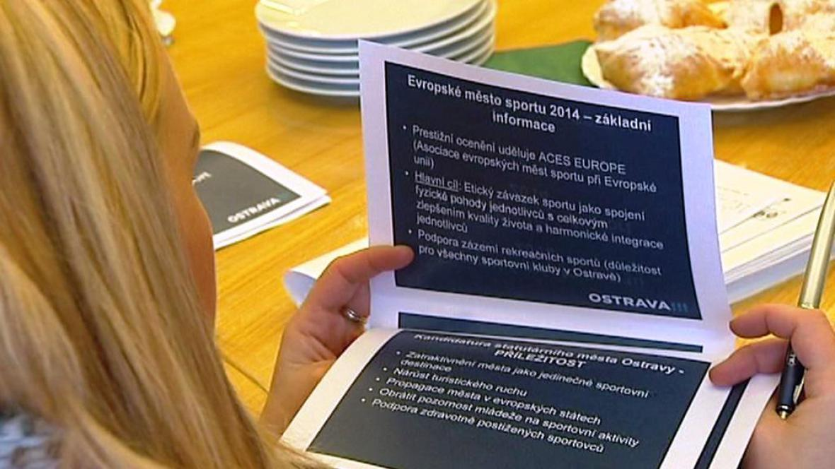 Ostrava chce být evropským městem sportu