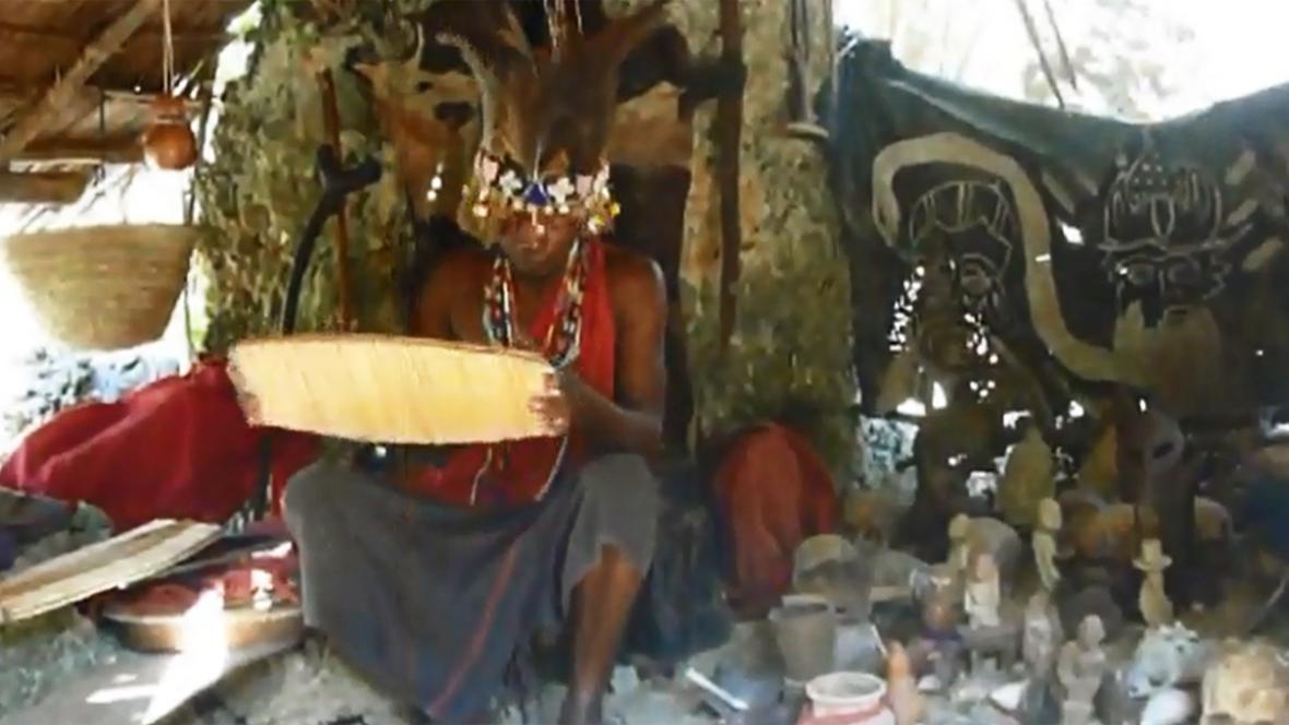 Africký šaman