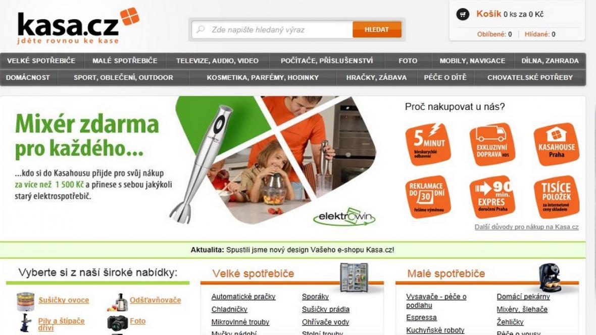 Internetový obchod Kasa.cz