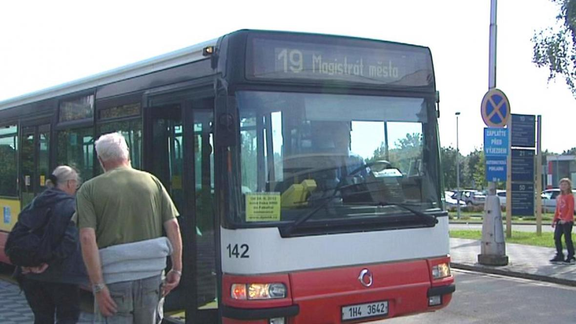 Nová autobusová linka v Hradci Králové