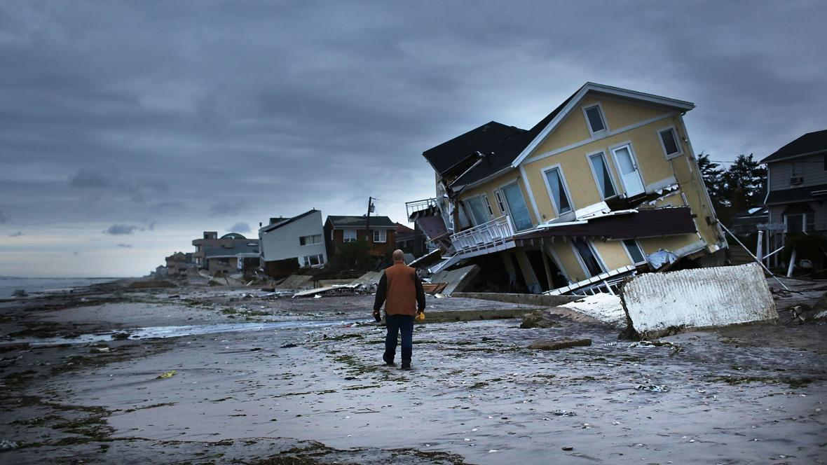 Následky hurikánu Sandy