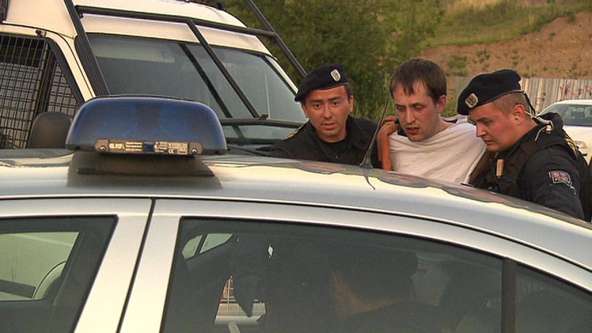 Policie zadržela střelce z Modřan