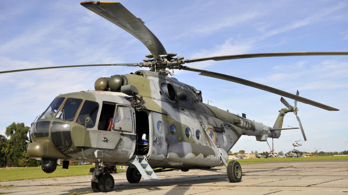 Modernizovaný vrtulník Mi-171Š