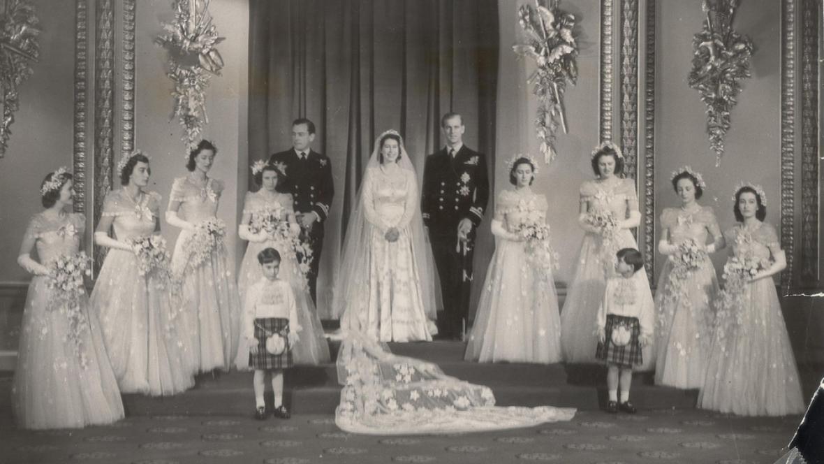 Svatba Alžběty a Philipa (1947)