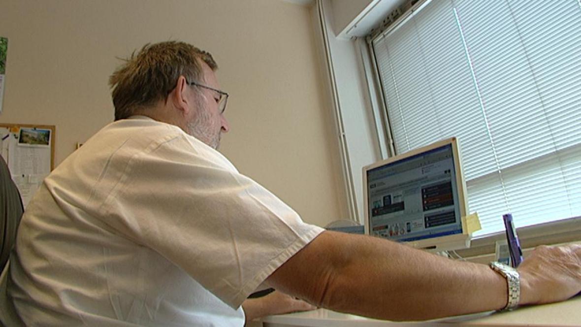 Počítač v ordinaci