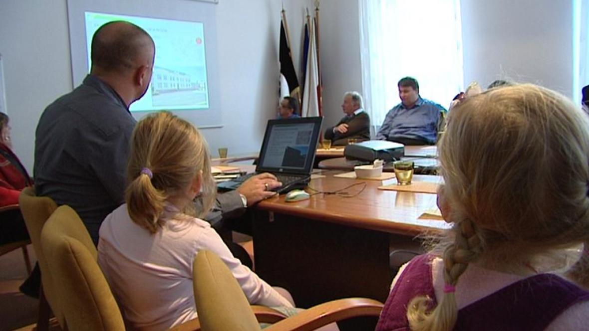 Prezentace nové studie o provozu v Chrudimi