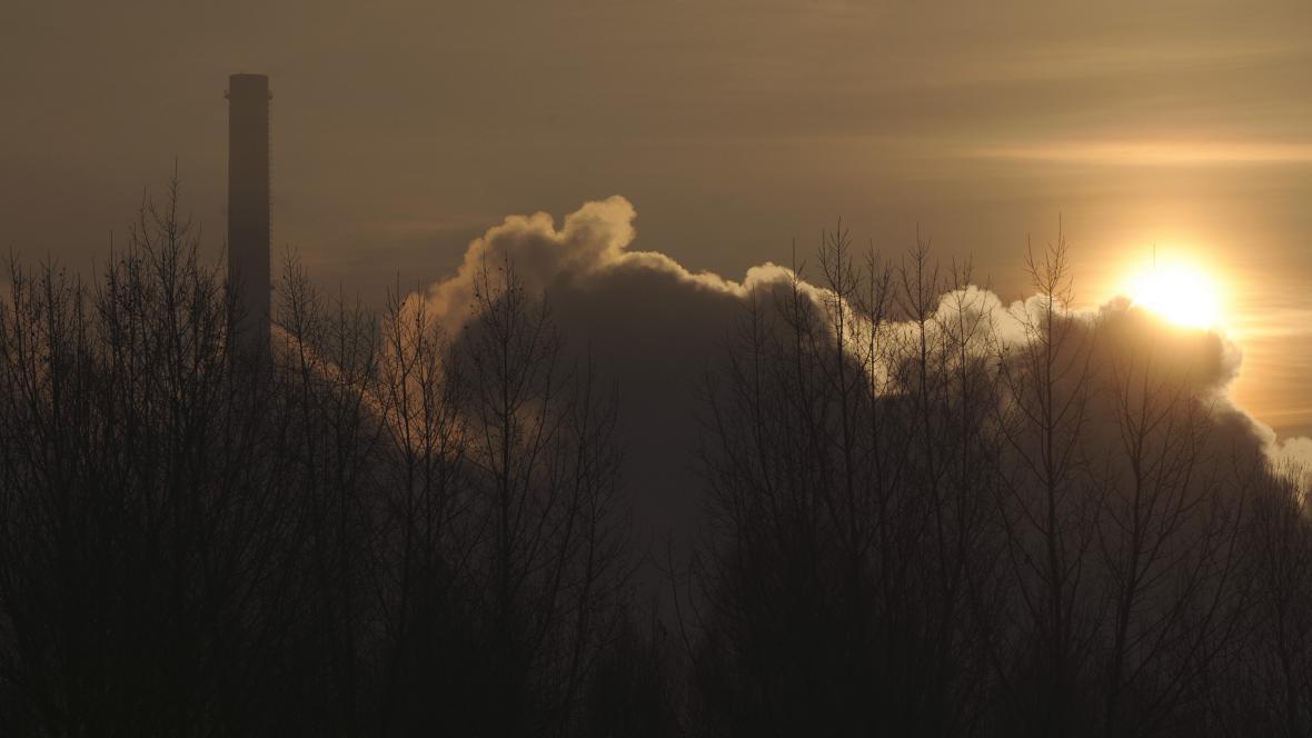 Smog v Moravskoslezském kraji