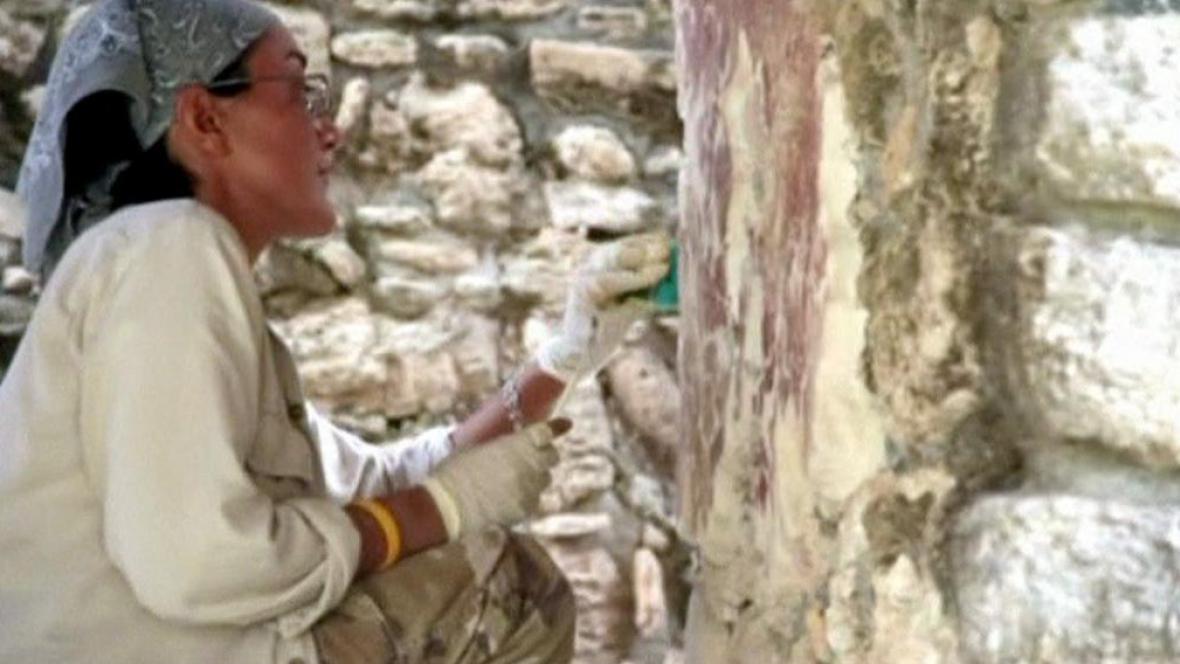 Obnova města Dzibanche