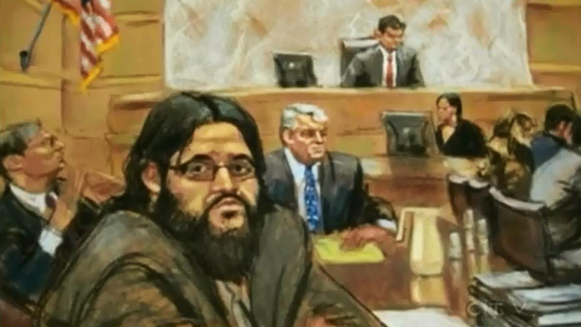 Adis Medunjanin před soudem