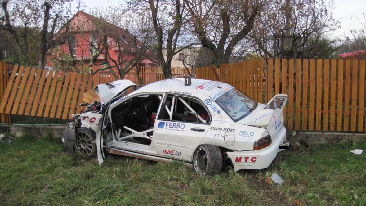 Tragická nehoda při RallyShow
