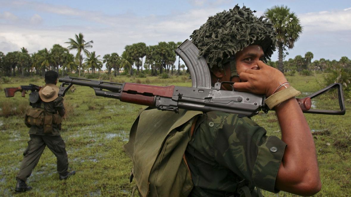 Konflikt na Srí Lance