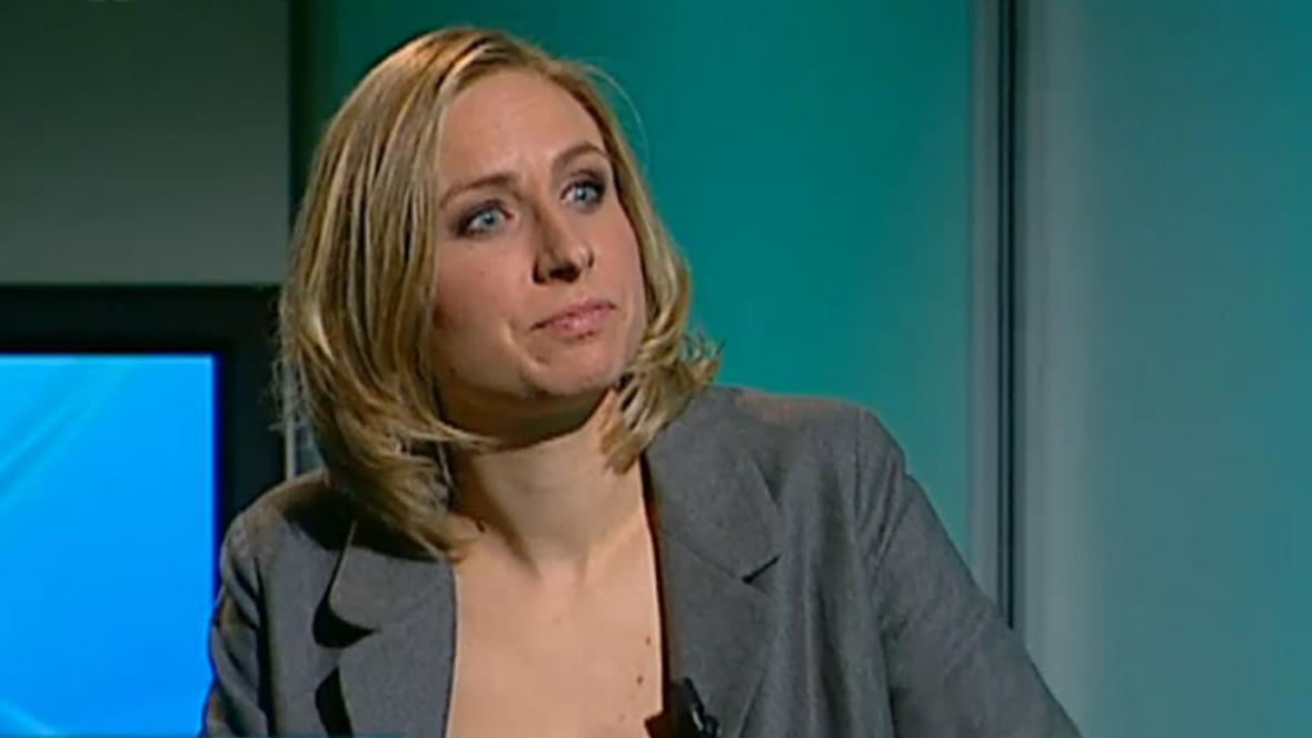 Olga Věra Cieslarová z Iniciativy Fór_um