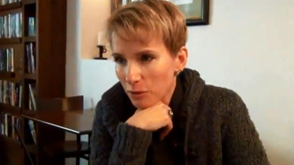 Slovenská filmařka Zuzana Piussi