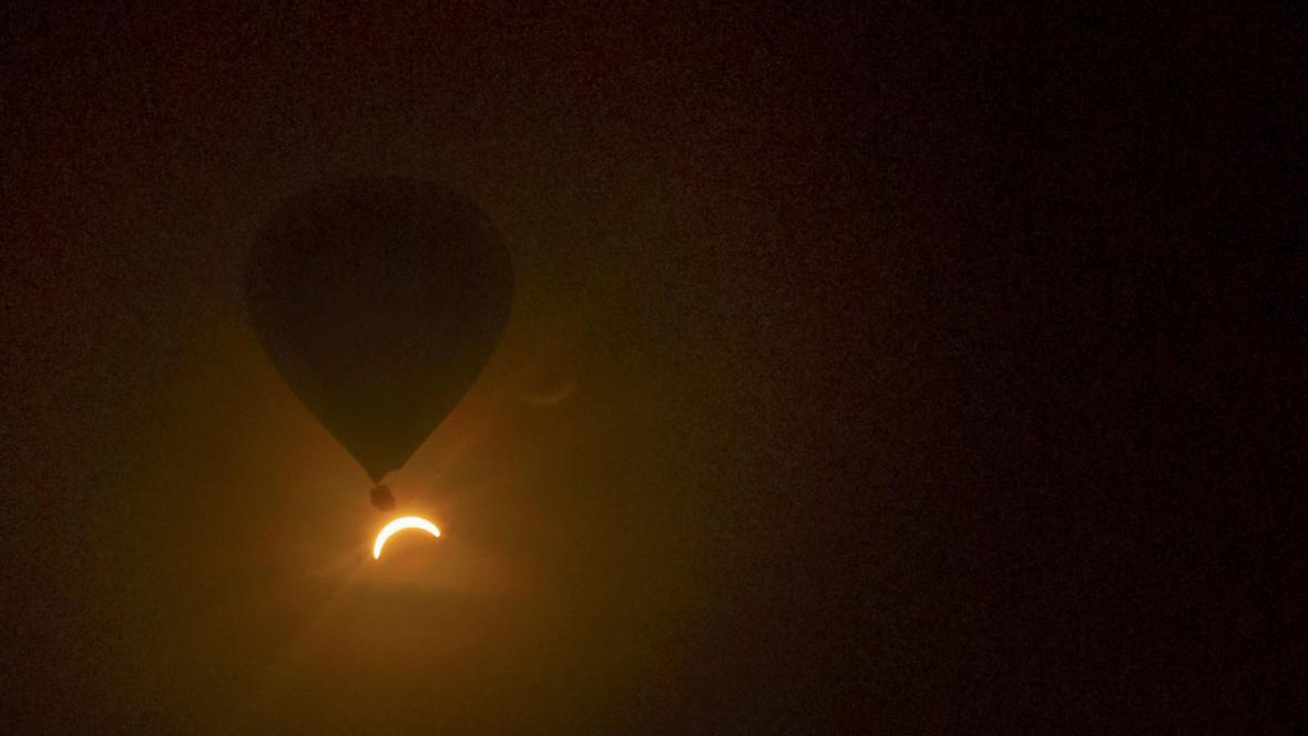 Zatmění Slunce v Austrálii