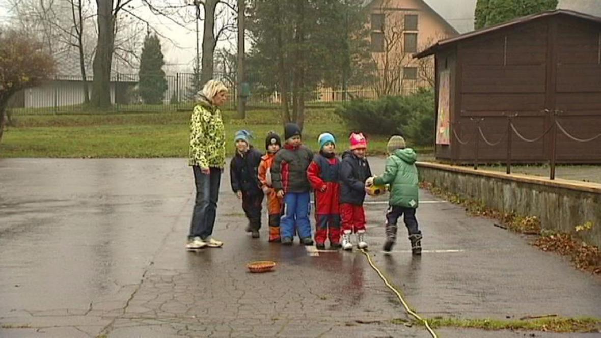 Děti na ozdravném pobytu