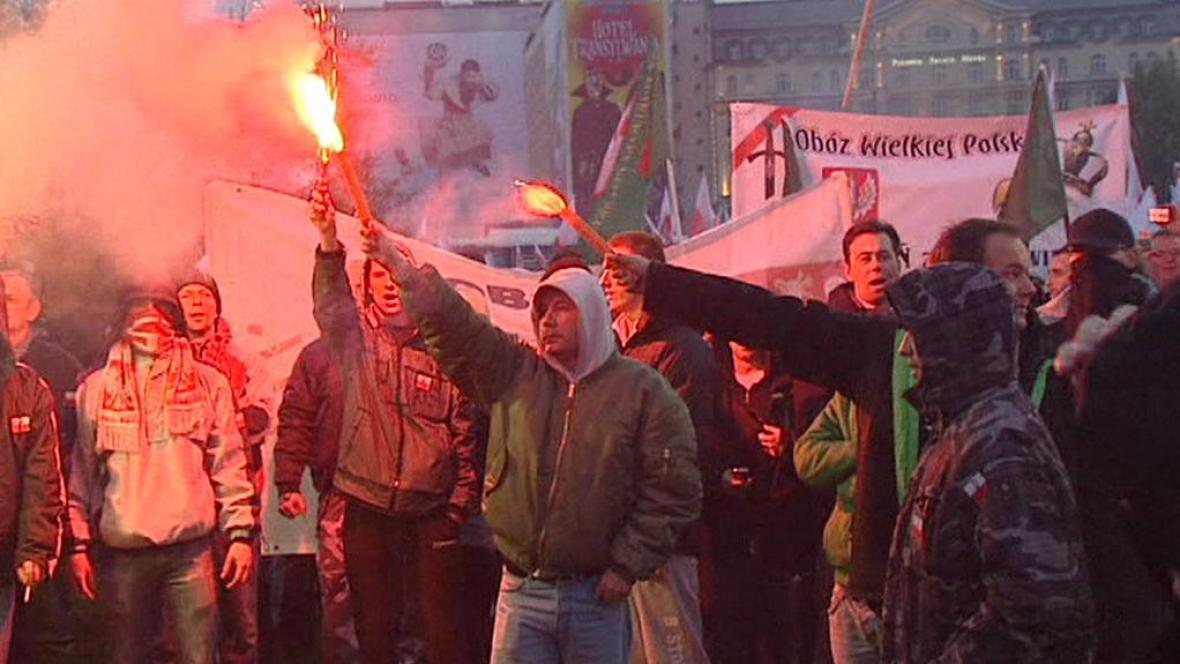 Polští extremisté