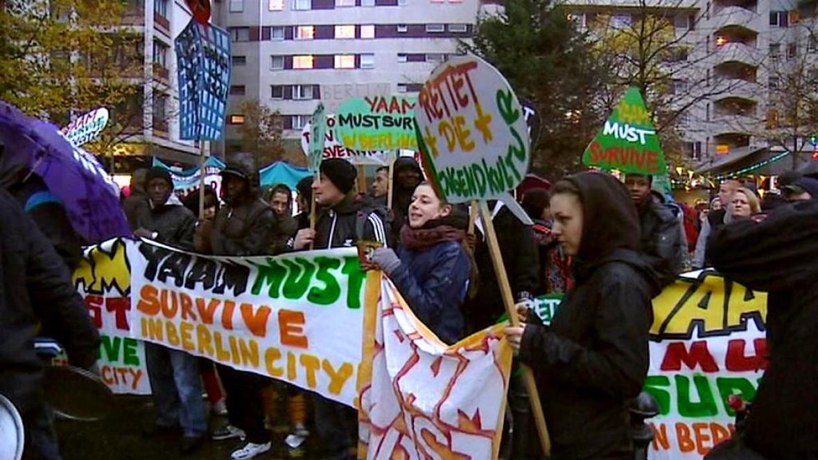 Protest proti drahému bydlení