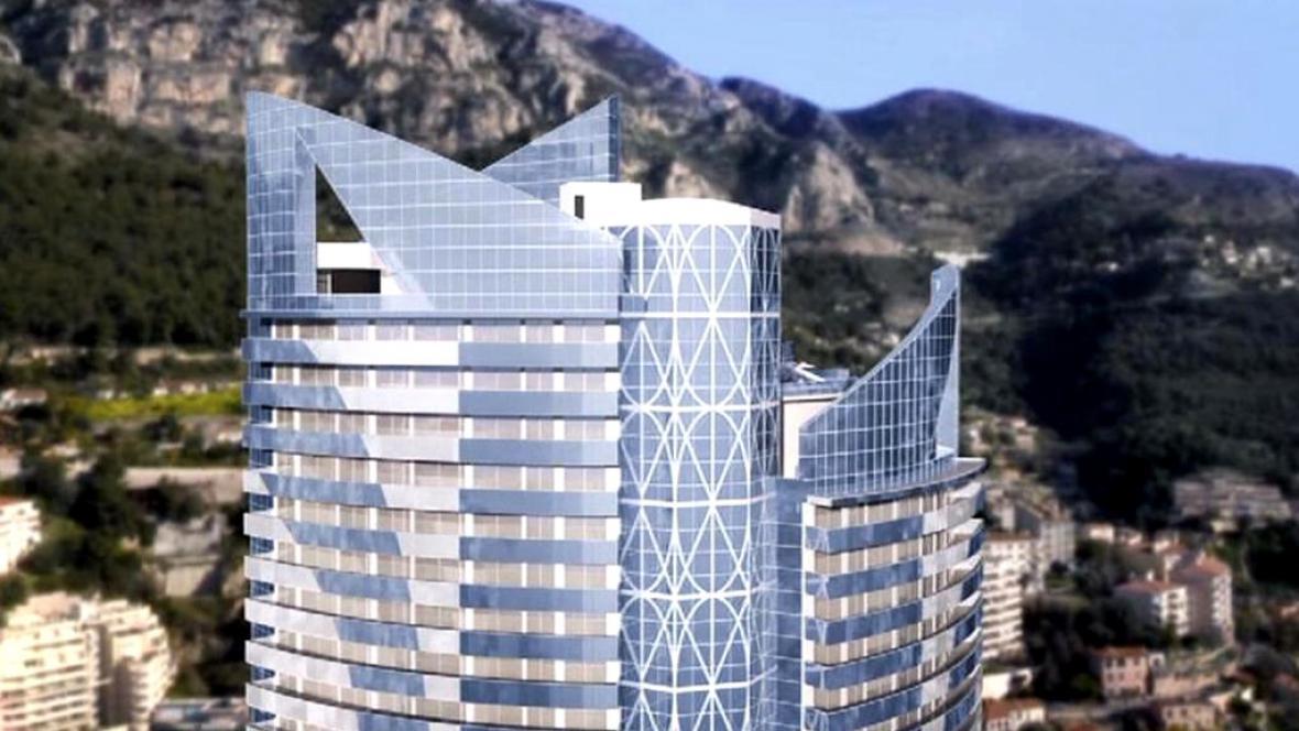 Nový mrakodrap v Monaku