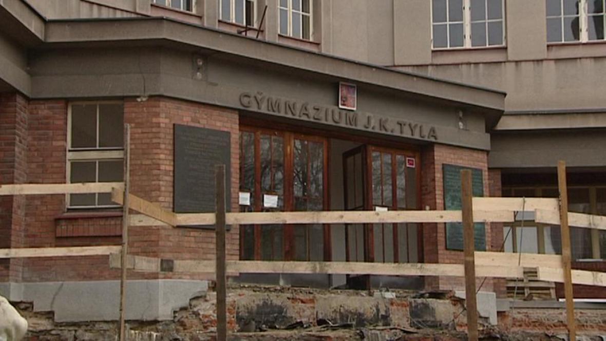 Rekonstrukce Tylova gymnázia v Hradci Králové