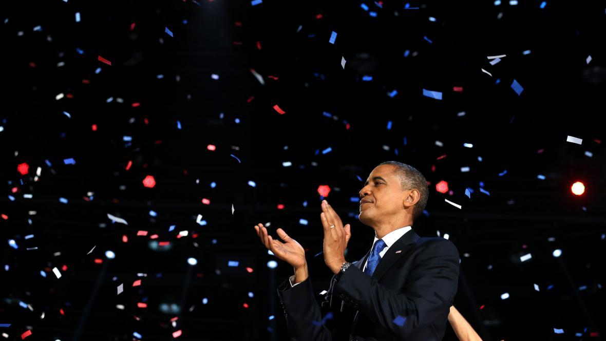 Barack Obama podruhé zvítězil v prezidentských volbách