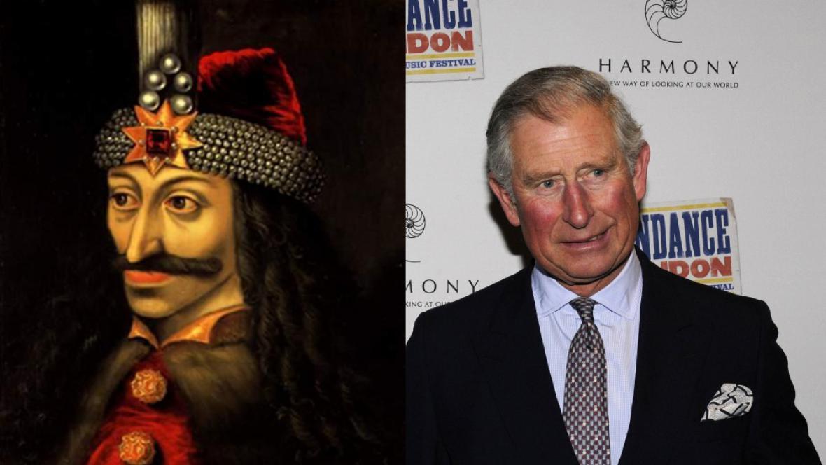 Vlad Dracula a jeho příbuzný princ Charles