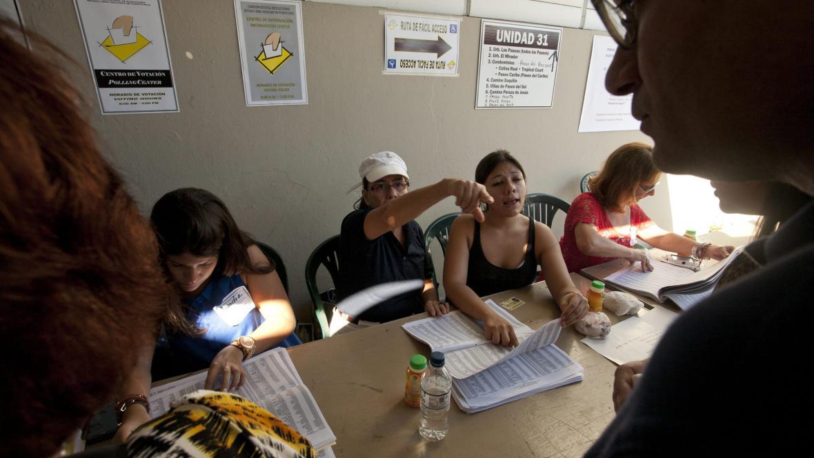 Volby na Portoriku