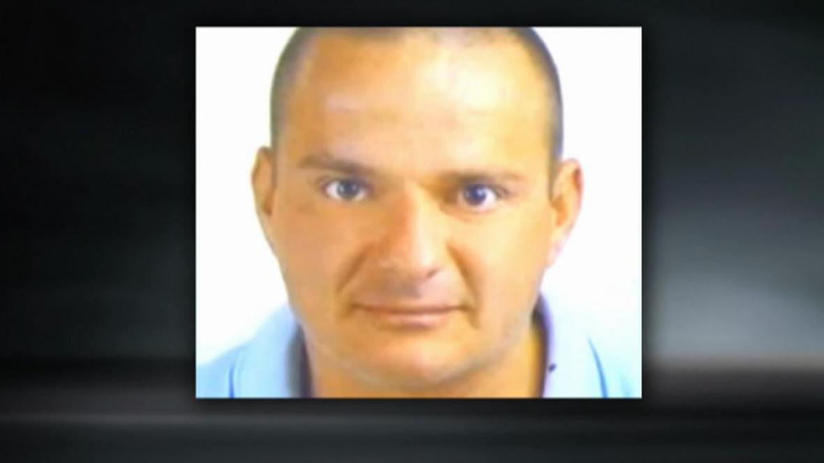 Obviněný Marian Hanák