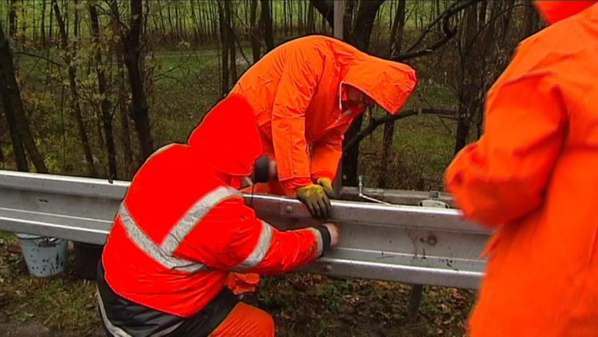 Oprava silnice Nebory-Vendryně