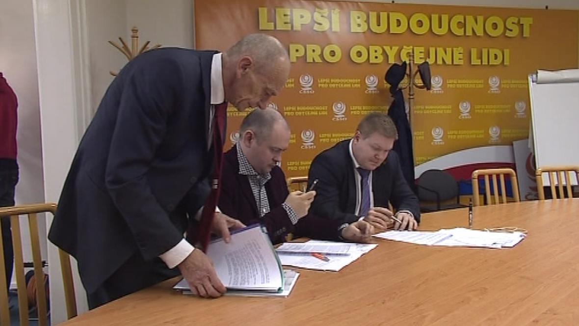 ČSSD hledá koaličního partnera pro další 4 roky