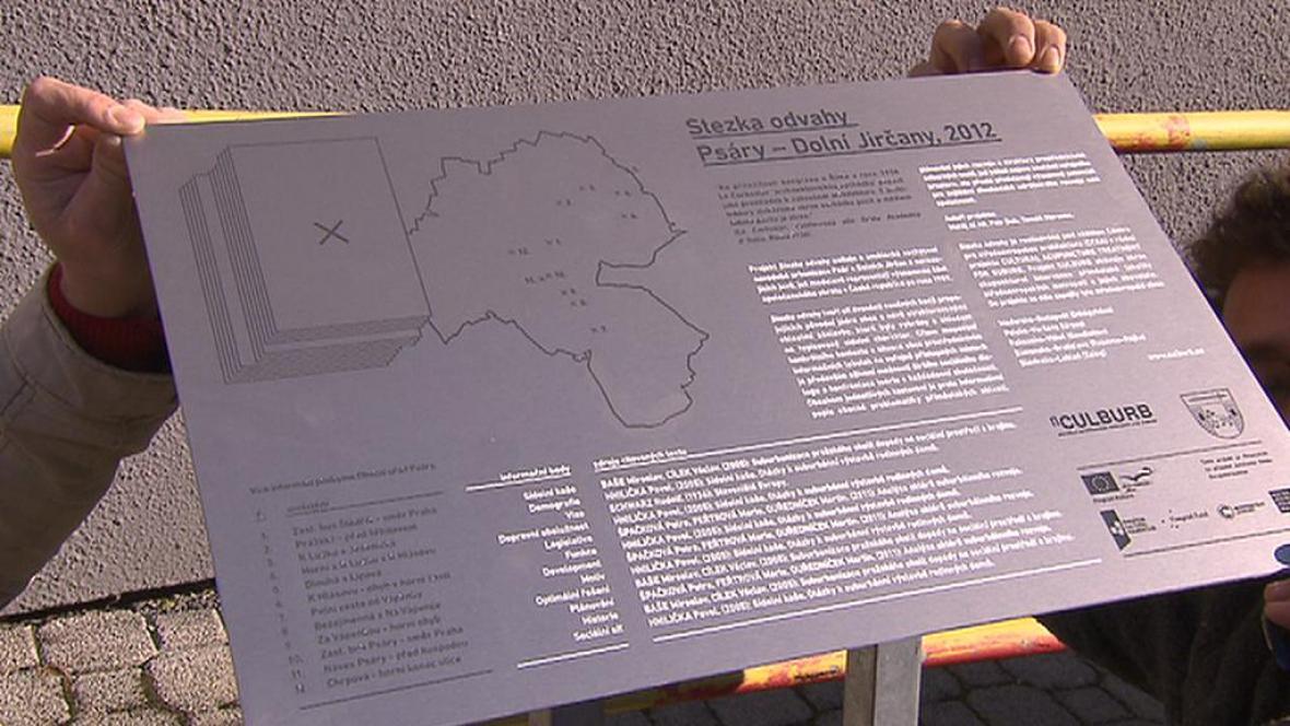 Naučná stezka Psáry - Dolní Jirčany