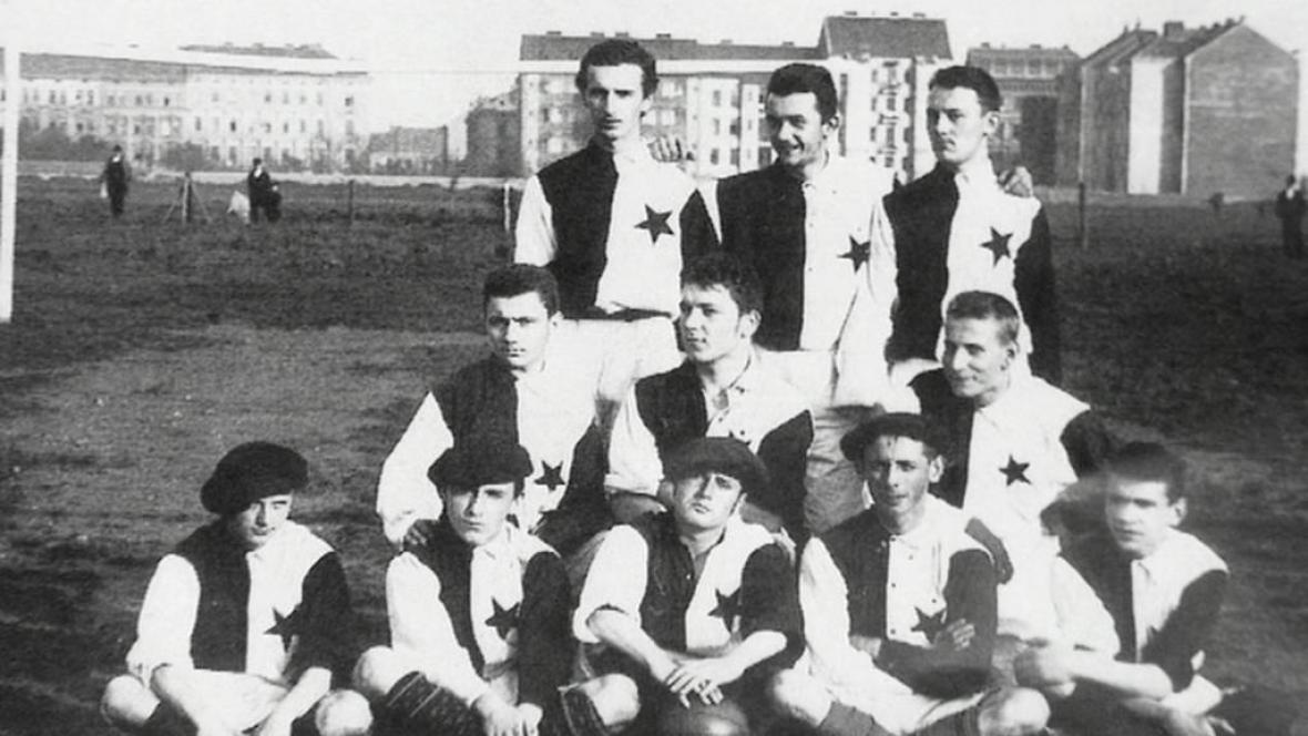 Fotbalová Slavia v roce 1896
