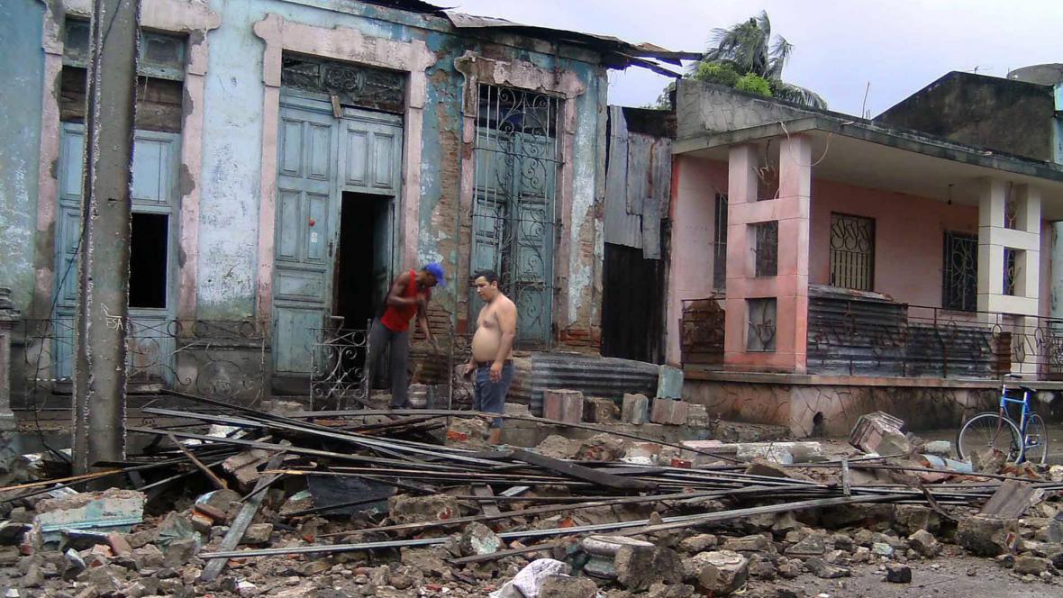 Následky hurikánu Sandy na Kubě