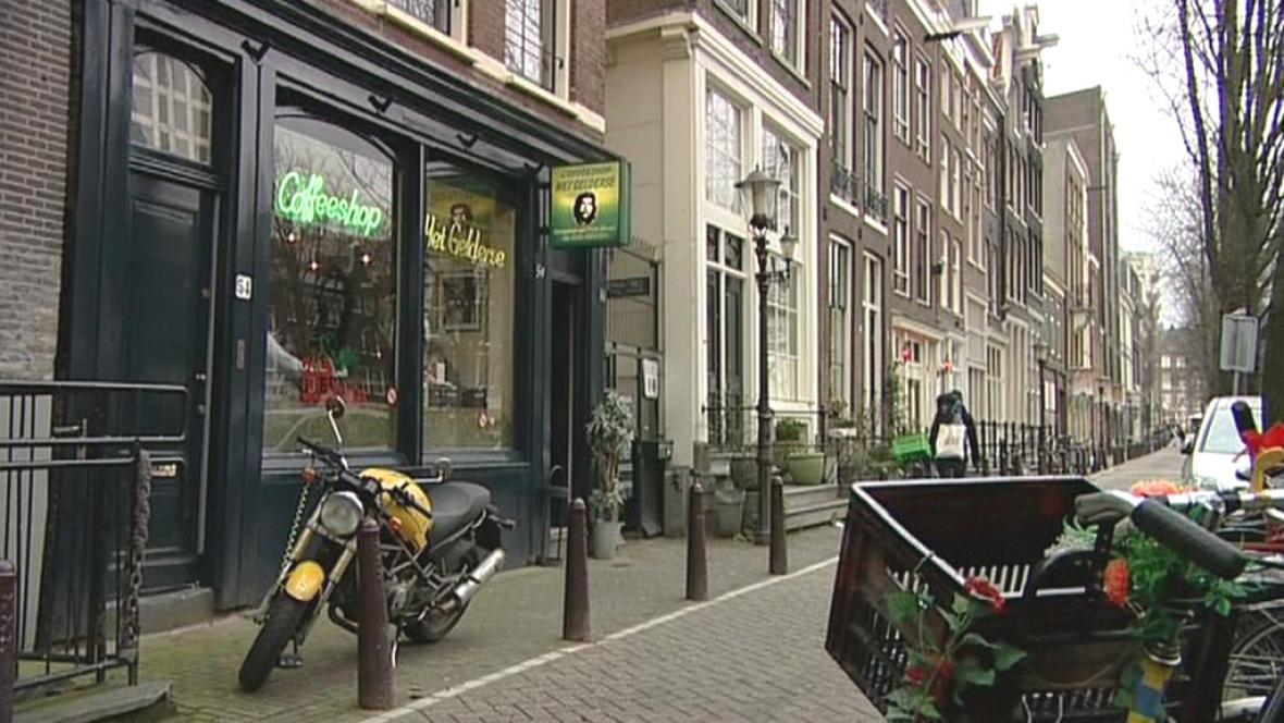 Amsterdamský coffee shop
