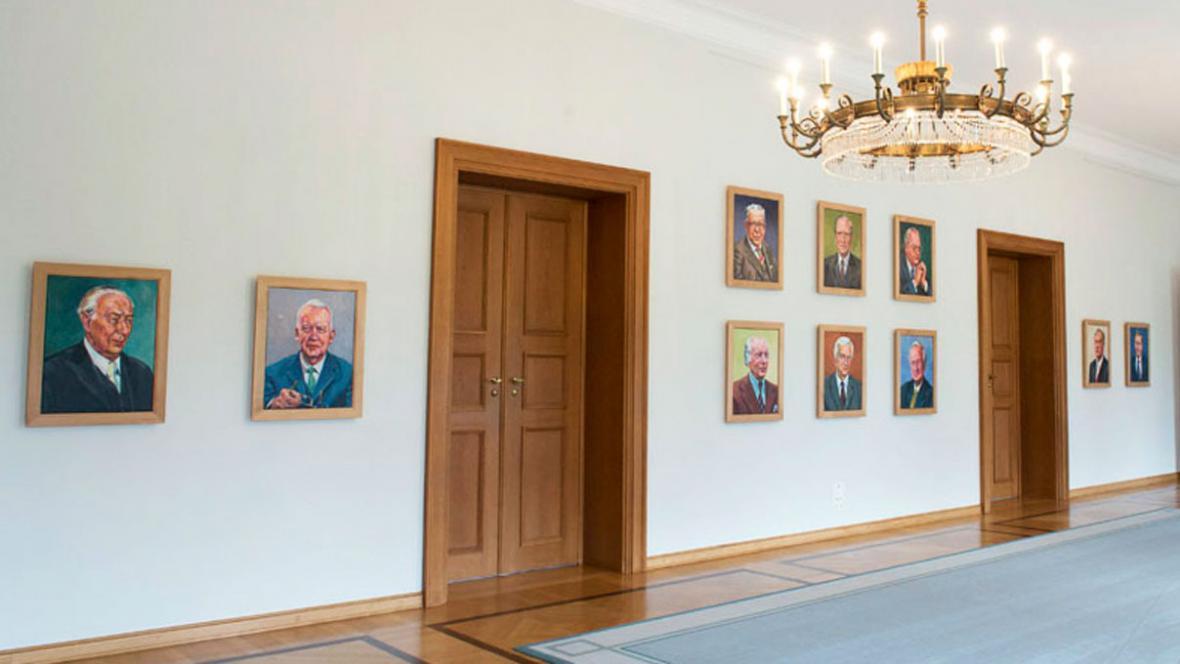 Portréty německých prezidentů