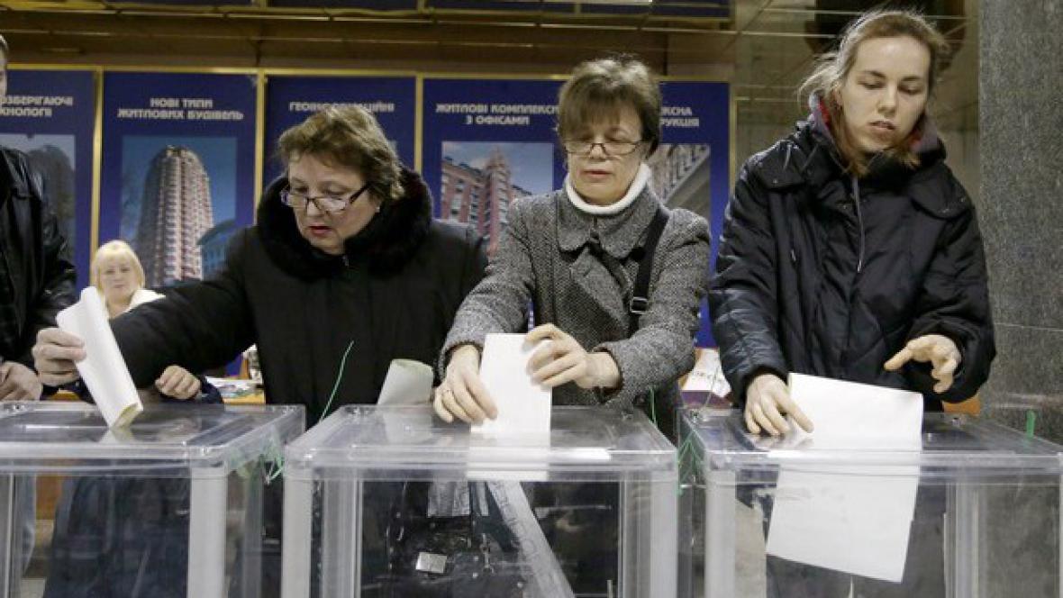 Parlamentní volby na Ukrajině