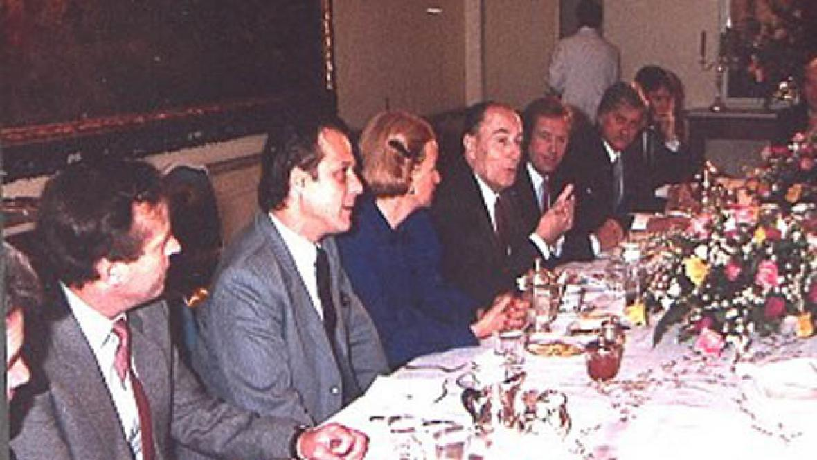Snídaně s Françoisem Mitterrandem