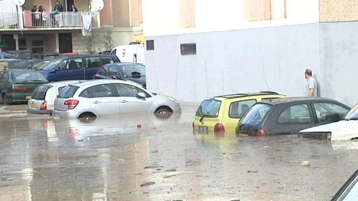 Následky bouře ve Francii