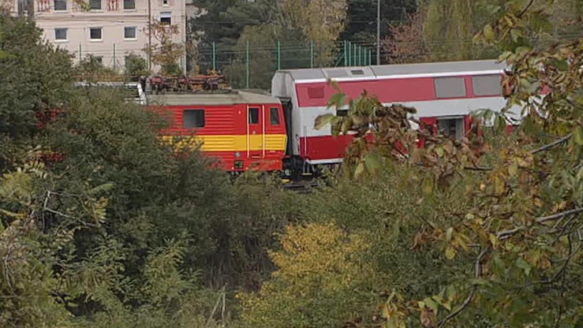 Srážka vlaků v Bratislavě