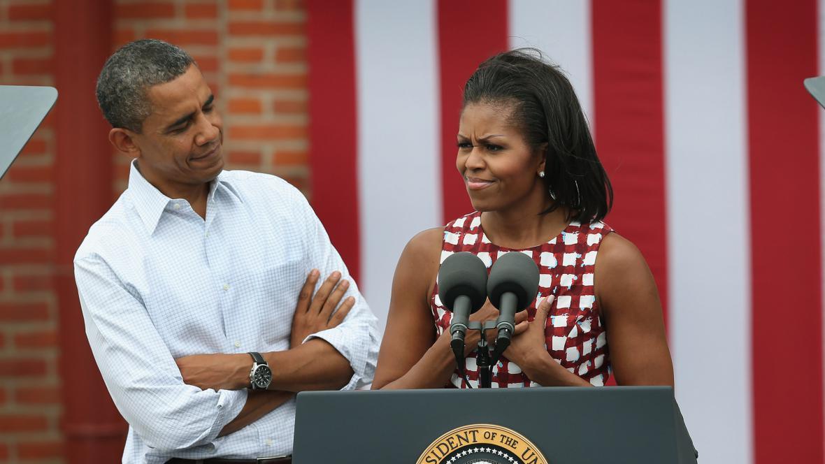 Barack Obama a Michelle Obamová